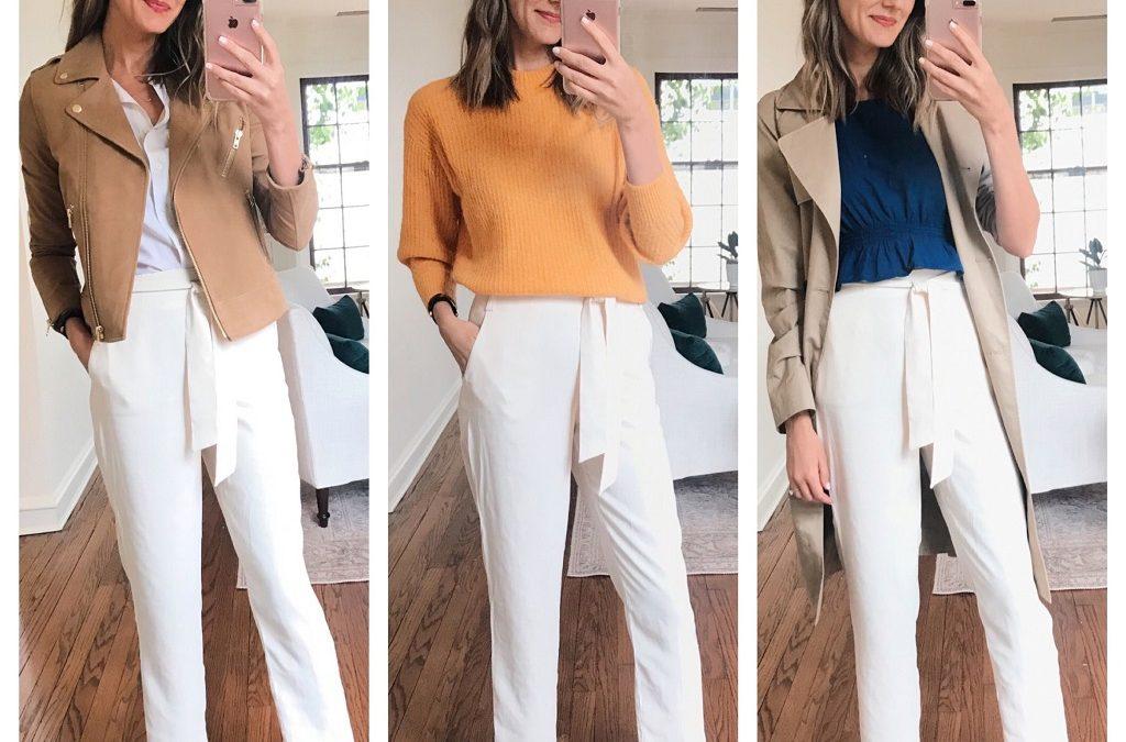 White pants for women