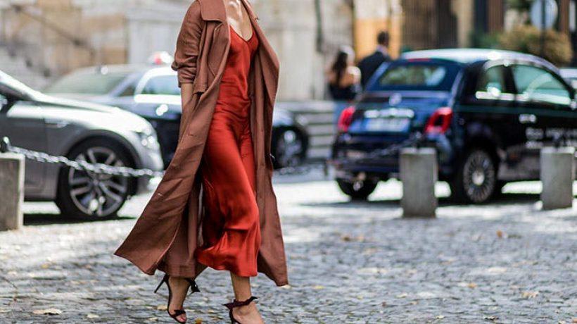 How to wear a slip dress?