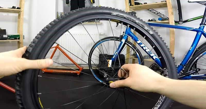 Truing the Bike Tire